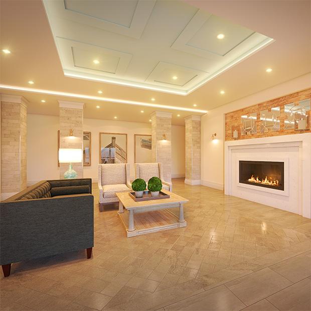 Stone & South Lobby