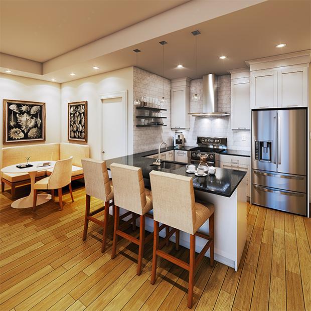Stone & South kitchen