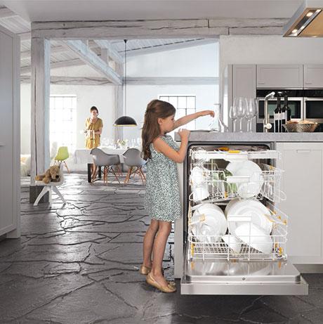 Miele EcoFlex Dishwasher Lifestyle